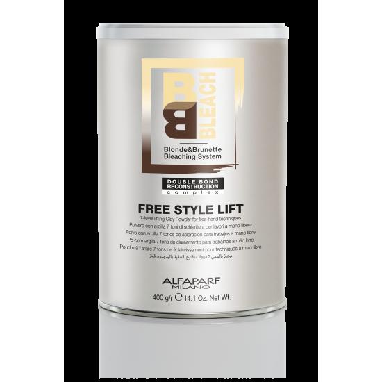 BB Bleach Free Style Lift - Šviesinimo Milteliai laisvų rankų technikoms 400g.