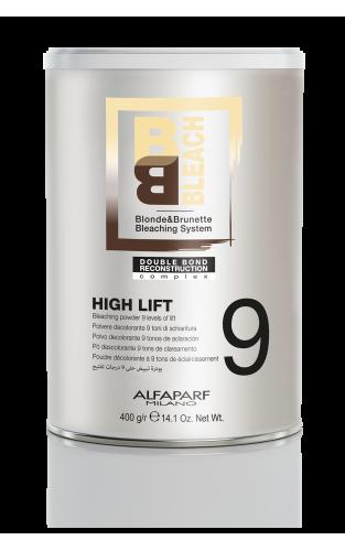 BB Bleach High Lift - 9 Lygių Šviesinimo Milteliai 400g.