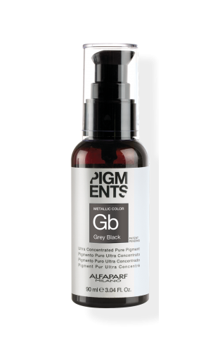 Pigments - Metallic Grey Black 90ml.