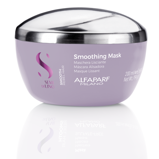 SDL Smooth Mask – Glotninanti kaukė šiurkštiems, besipučiantiems plaukams 200ml