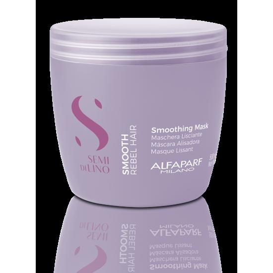 SDL Smooth Mask – Glotninanti kaukė šiurkštiems, besipučiantiems plaukams 500ml